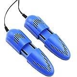 LDDLDG Asciuga Scarpe Elettrico Essiccatori di Scarpe con deodorizzatore a soffiante Deodorizzatore Rack Regolabile a Secco per Scarpe, Guanti, Cappelli, Scarpe Sportive e Calzini (Color : Blue)