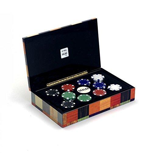 CAYRO- Fundas y bandejas para fichas de Poker (2624)