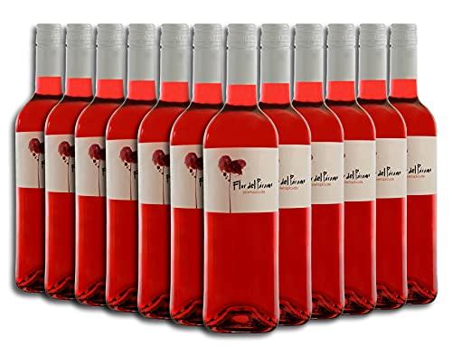 Vino Rosado - Leyenda del Páramo - Flor Del Páramo - Vino Premiado - Caja de 12 botellas de 75 cl. - Envio en caja protectora de alta resistencia para un transporte 100% seguro