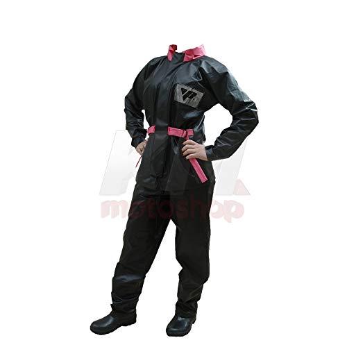 Capa de Chuva Para Motoqueiro Feminina Blusa E Calça Pvc Impermeavel Pantaneiro M