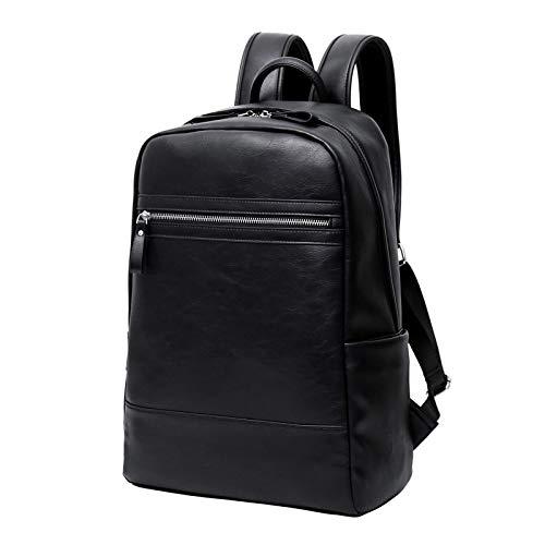 Herenrugzak van leer, modieus, casual, luxueus, designer laptoptas, reistas voor heren, grote capaciteit, schooltas voor college