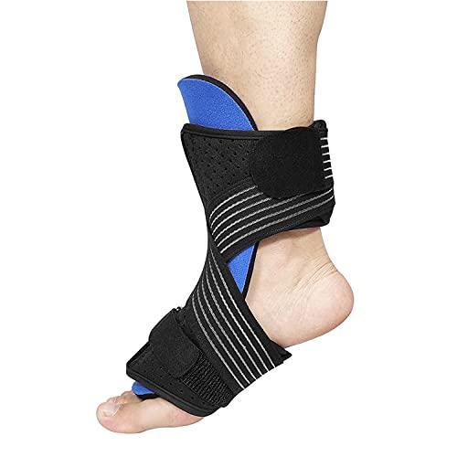 Plantar Fasciitis Ankle Support Sleeve, for Broken Metatarsal, Stress Fracture Foot Splint, Heel Pain