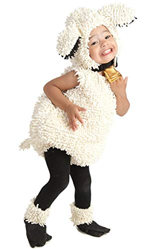Princess Paradise Baby's Lovely Lamb Deluxe Costume, As Shown, 18M/2T