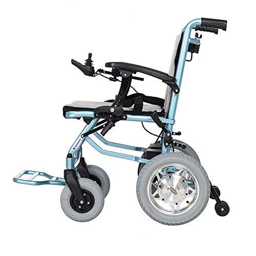 Yao Lichtgewicht elektrische rolstoel, inklapbaar, 5,2 Ah, lithium-ion accu, 20 km, borstelloze motor met 600 W, dubbele controle, elektrische rolstoel 19 kg