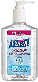 Purell Advanced Hand Sanitizer Refreshing Gel 8 oz
