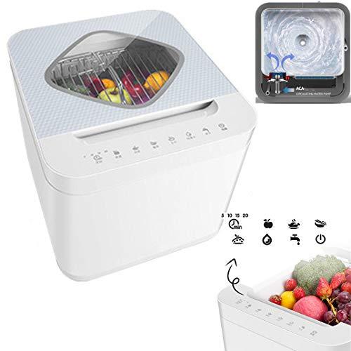 Lavadora ultrasónica de hortalizas de frutas y verduras de 13L, hogar que limpia automáticamente los residuos de pesticidas de frutas y verduras para eliminar la máquina desinfectante de ozono