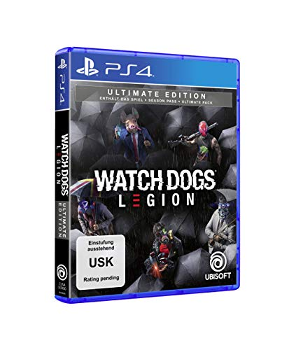 Watch Dogs Legion - Ultimate Edition (kostenloses Upgrade auf PS5) [Playstation 4]