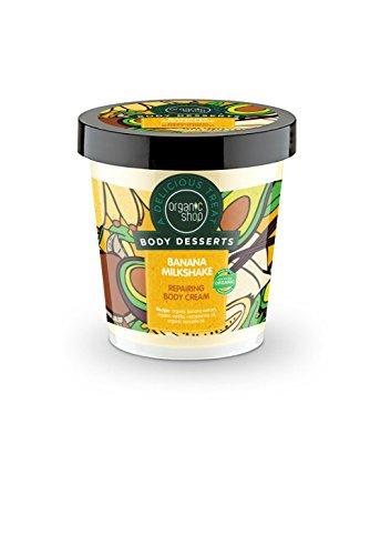 Organic Shop Crema Corporal Reparadora de Batido de Plátano