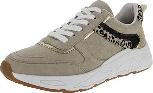 PS Poelman Shoes Adult Damen Sneaker beige Gr. 40