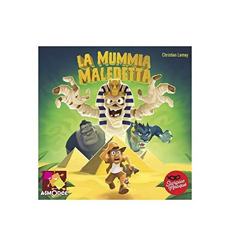 GDT - La Mummia Maledetta - Gioco da Tavolo, Boardgame - Asmodee - ITALIANO