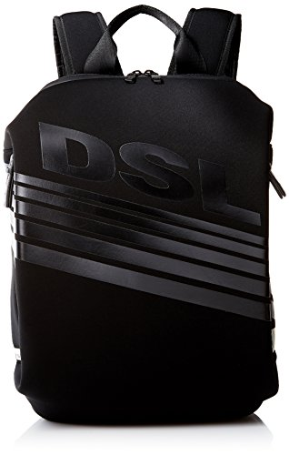 Diesel X05193P0179T8013, Zaino Casual Uomo Nero Black-01 taglia unica