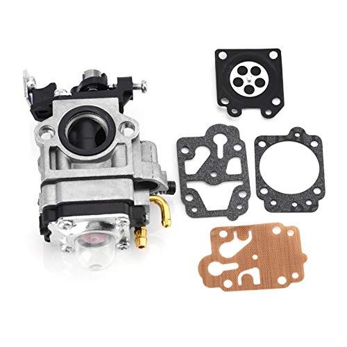 Jenngaoo Carburador para Cortacésped, Kits de Reparación Carburador de Aleación de Aluminio para Desbrozadora CG430 CG520 BC430 BC520