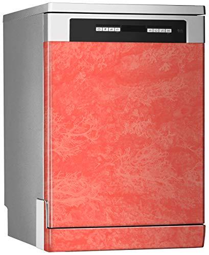MEGADECOR Dekoratives Vinyl für Geschirrspüler, Standard-Maße 67 cm x 76 cm, Holztextur