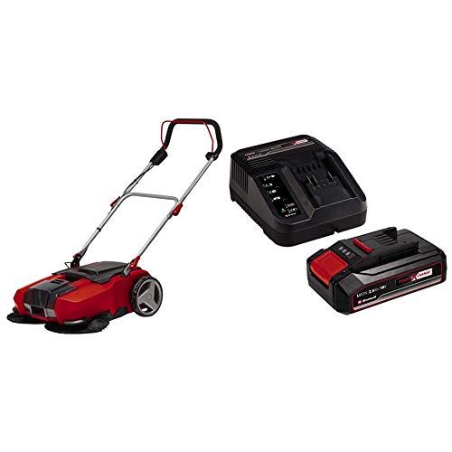 Einhell Spazzatrice a Batteria Te-Sw 18/610 Li-Solo Power X-Change + 2,5 Ah Power X-Change Batteria