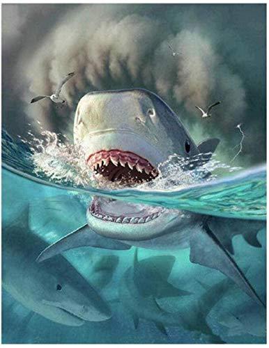 UYRT 5000 Piezas de Rompecabezas de Madera, Rompecabezas de tiburón, Juegos creativos, Juego de Rompecabezas de Madera para Adultos, Adolescentes, Juguetes para niños, Regalo