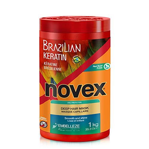 Novex Brazilian Keratin, Mascarilla Queratina brasilea, 1 kg