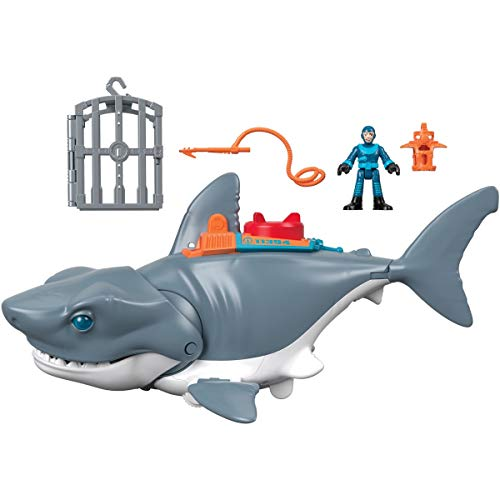 Fisher-Price GKG77 - Imaginext Hungriger Hai