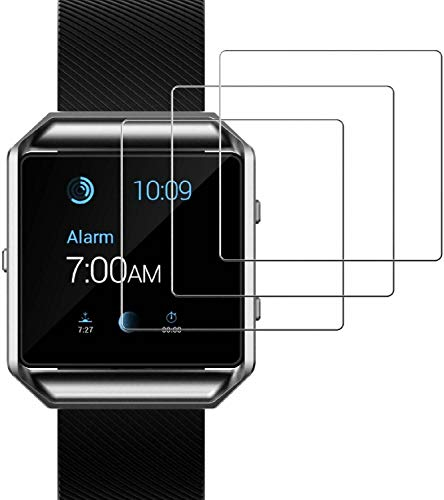 Vendedor del Reino Unido. Protector de pantalla invisible para reloj Fitbit Blaze,...