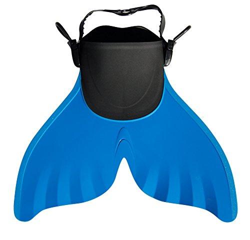 Sweam - monopalme verstelbaar voor kinderen van 8 tot 12 jaar - maat 28/32 blauw