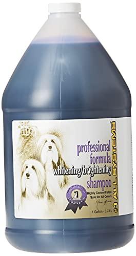 #1 All Systems Professional Formula Whitening Dog Shampoo