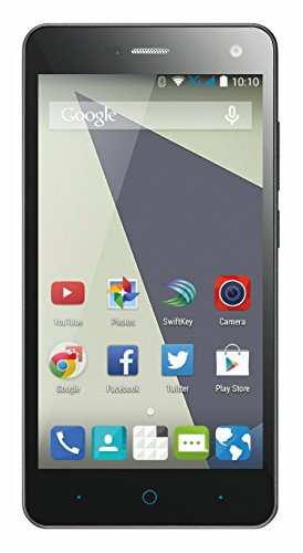 "ZTE Blade L3 Smartphone, Display 5\"", 8 Megapixel Kamera, 2 Megapixel Frontkamera, Quad Core Prozessor, 1,3GHz, Bluetooth 4.0, 8GB interne Speicher, Android 5.0) grau"