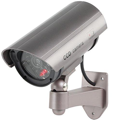 Konig SEC DUMMYCAM30 Bewakingscamera CCTV met IR LED knipperend (Fint) Media Wave Store®