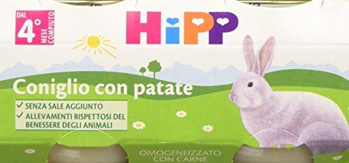 Hipp Omogeneizzato Coniglio con Patate - 24 vasetti da 80 g