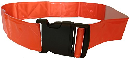 VETERAN PT Belt - Military Reflective Belt - Glow Belt - Running Belt - Reflective Belt - Orange