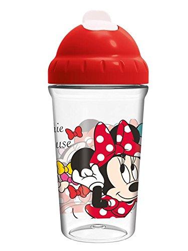 Minnie mouse st-45386 Vase Toddler avec paille souple 295 ml couleur Bows '