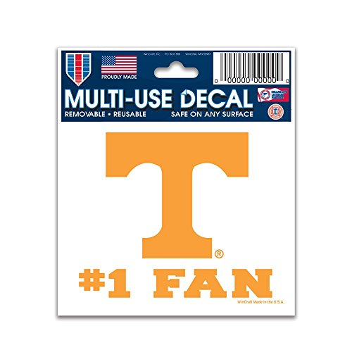 WinCraft NCAA University of Tennessee Multi-Use Decal, 3' x 4'