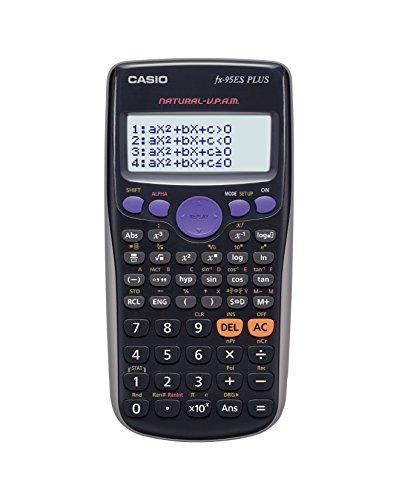 CASIO fx-95 ES PLUS - Calculadora científica 274 funciones, Menu fácil, Pilas AAA, Escritura natural