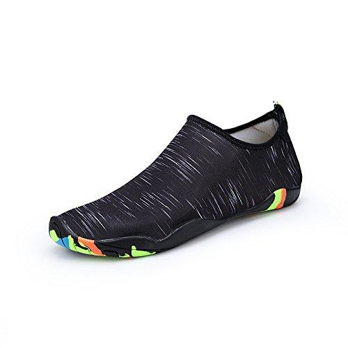 Lucdespo Natación Zapatos, Hombres Calzado de Playa, Gimnasio, Cinta Transpirable Zapatos, Zapatos...