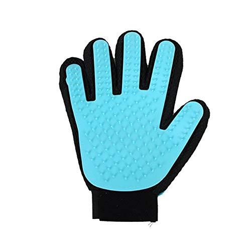 Chongwushua Huisdier Grooming Handschoen, Huisdier Haar Verwijdering Wanten Massage Penseel Tool Met Verstelbare Pols Band Voor Alle Korte En Lange Haar Huisdieren