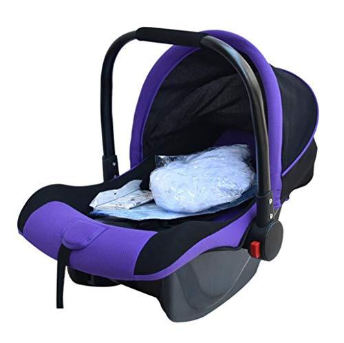 GHGJU Wiege Wiege Kinderauto Tragbares Bett Tragbare Wiege Babyprodukte Bieten Sie Ihrem Kind EIN Komfortables Schlafklima (Color : Purple)