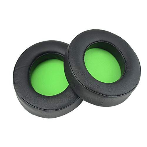 1Pair Replacement Earpads Ear Cushion Cups Cover Repair Parts for Razer Kraken PRO 7.1 V2 Gaming Headphones Headset Accessories Earbud Earphone Foam Pad Cushion Sponge Covers Headset EarPads
