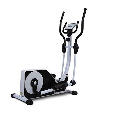 CHENYE Elliptischer Kreuztrainer mit Digital-Monitor-Display und Herzfrequenz-Test, Home Office-Maschine Ellipsentrainer Bikes Stepper Trainingsgeräte