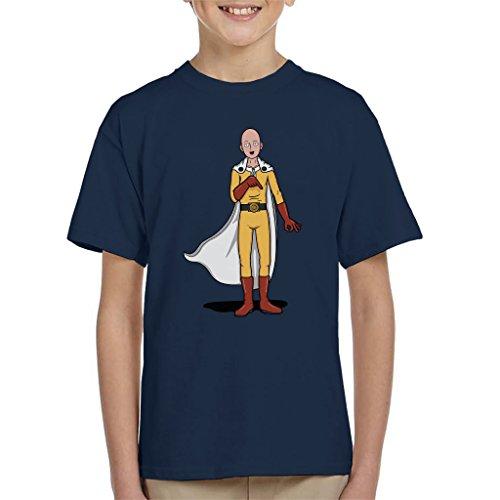 One Punch Man Epic Punch Circle Game Kid's T-Shirt