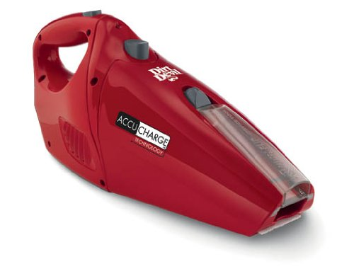 Review Of Dirt Devil Hand Vacuum Cleaner Accucharge 15.6 Volt Cordless Bagless Handheld Vacuum BD100...