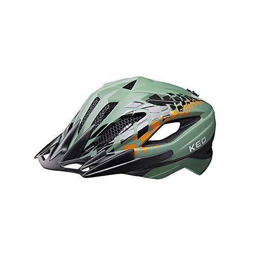 KED Street Jr. Pro Helm Kinder Olive Kopfumfang M | 53-58cm 2021 Fahrradhelm