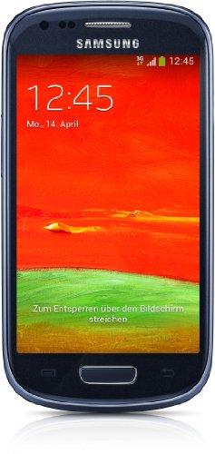 Samsung Galaxy S3 mini (GT-I8200) Smartphone (4 Zoll (10,2 cm) Touch-Display, 8 GB Speicher, Android 4.2) blau