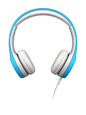 LilGadgets Kids Premium Volume Limited Wired Headphones with SharePort (Children, Toddlers) - Blue from LilGadgets