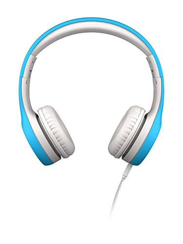 LilGadgets Kids Premium Volume Limited Wired Headphones with SharePort (Children, Toddlers) - Blue