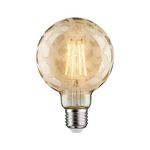 Paulmann 284.88 LED Globe Ø95mm 6W E27 Krokoeis Gold Warmweiß dimmbar 28488 Leuchtmittel Lampe