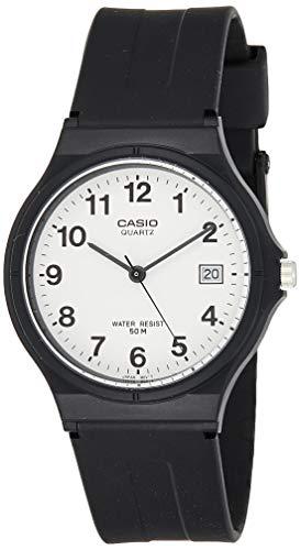 Casio Herren Analog Quartz mit Resin Armbanduhr MW 59