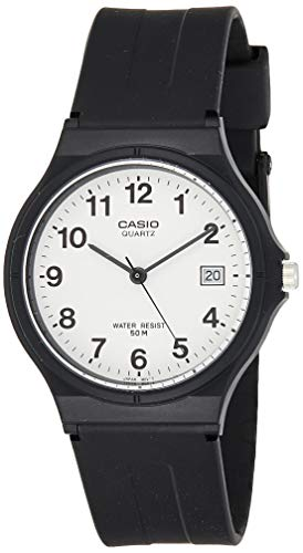 Casio Herren Analog Quartz mit Resin Armbanduhr MW 59