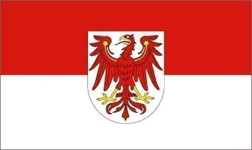 trends4cents Top Qualität - Flagge BRANDENBURG MIT WAPPEN Fahne, 90 x 150 cm