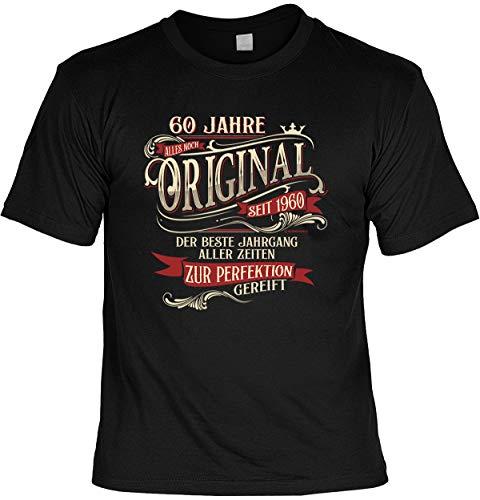 lustiges T-Shirt 60 Geburtstag 60 Jahre Shirt Leiberl Papa Geschenk zum 60 Geburtstag 60 Jahre Geburtstagsgeschenk 60-jähriger Gr: L
