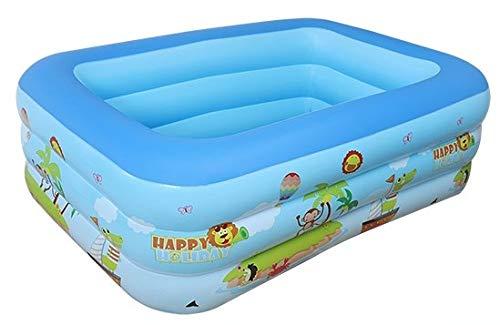 Zenghh Infantil inflable, Piscina al hogar piscinas, Grueso burbuja inferior 3 Nivel...