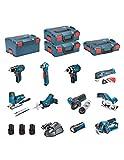 BOSCH Kit 12V BMK10-28DD3 (GSR 12V-15 + GDR 12V-105 + GKS 12V-26 + GWS 12V-76 + GST 12V-70 + GOP...