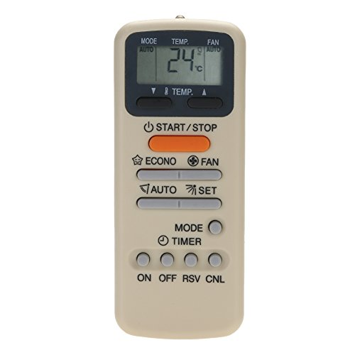 Broadroot Télécommande de Climatisation pour Toshiba WH-E1NE WH-D9S KT-TS1 WC-E1NE WH
